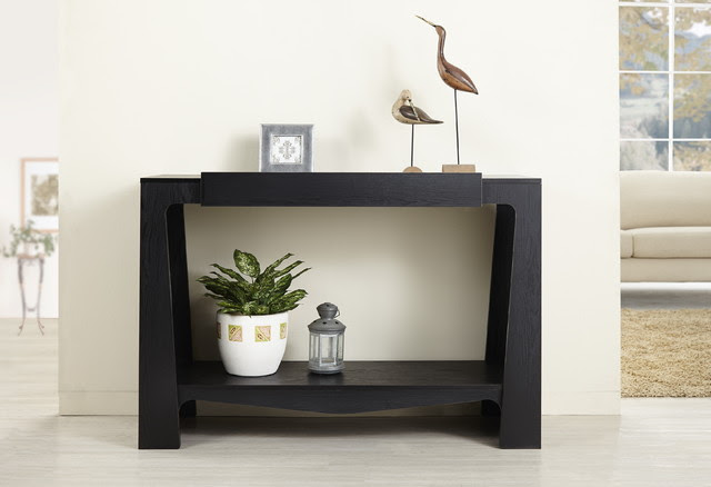 Furniture of America Urbana Black Modern Hall-Entry Way ...