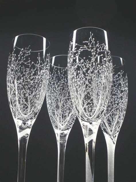 17 Best ideas about Engraved Champagne Flutes on Pinterest