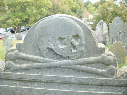 Skull and Crossbones (1771) by midgefrazel