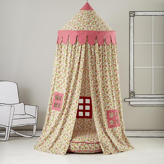 home sweet play home canopy -- land of nod