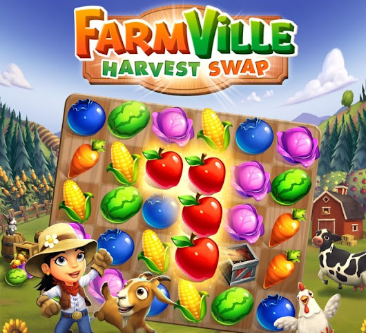 Zynga launches FarmVille: Harvest Swap to reap match-3 profits