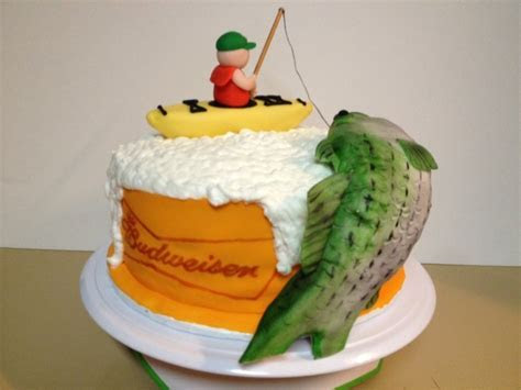 15 Fishing or Hunting Themed Cakes to Help Celebrate in Style