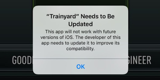 Future iOS update will shut the door on apps from the dawn of the smartphone