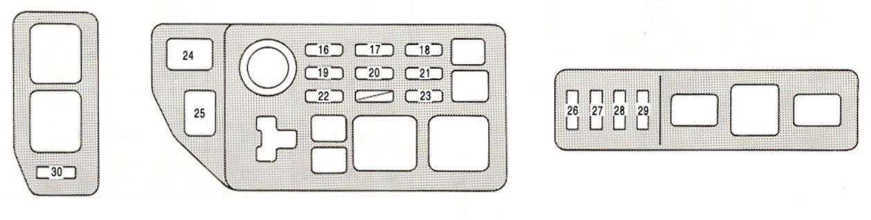 Lexu Rx300 Fuse Box