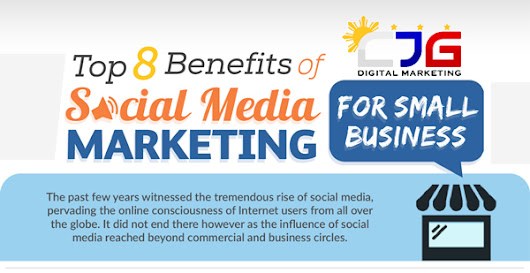 Top 8 Benefits of Social Media Marketing for Small Business (Infographic)