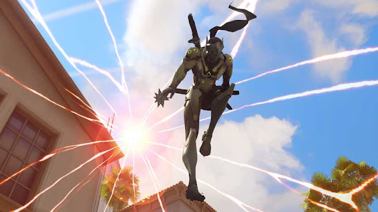 Overwatch Valentine's Day lines seem to confirm Genji x Mercy ship, but don't forget Blizzard said there would not be an event