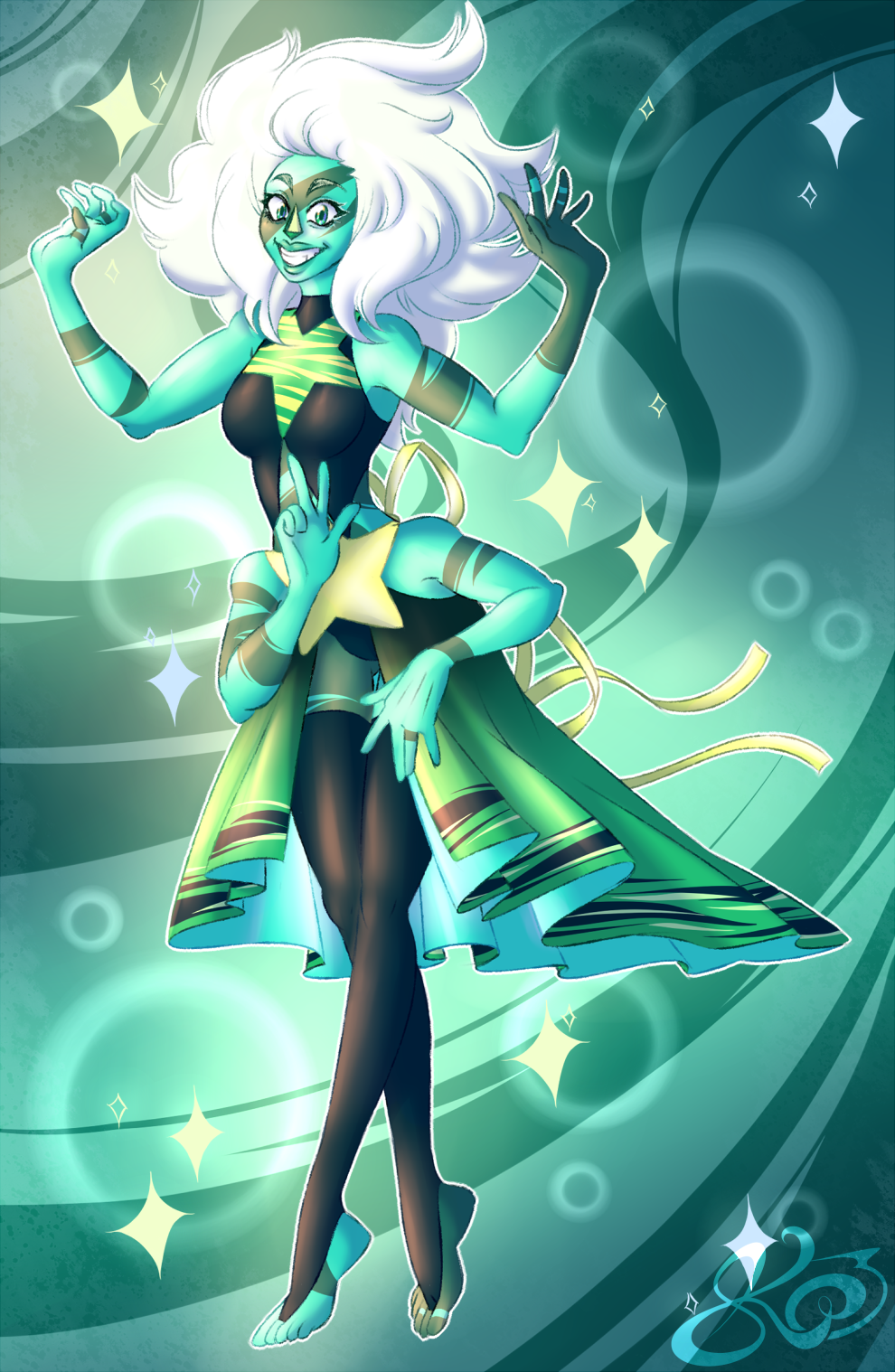 reformed Malachite *~..:  *:.~ Malachite The Crystal Gem ~.:* C> :..~* reformed lapis will come soon