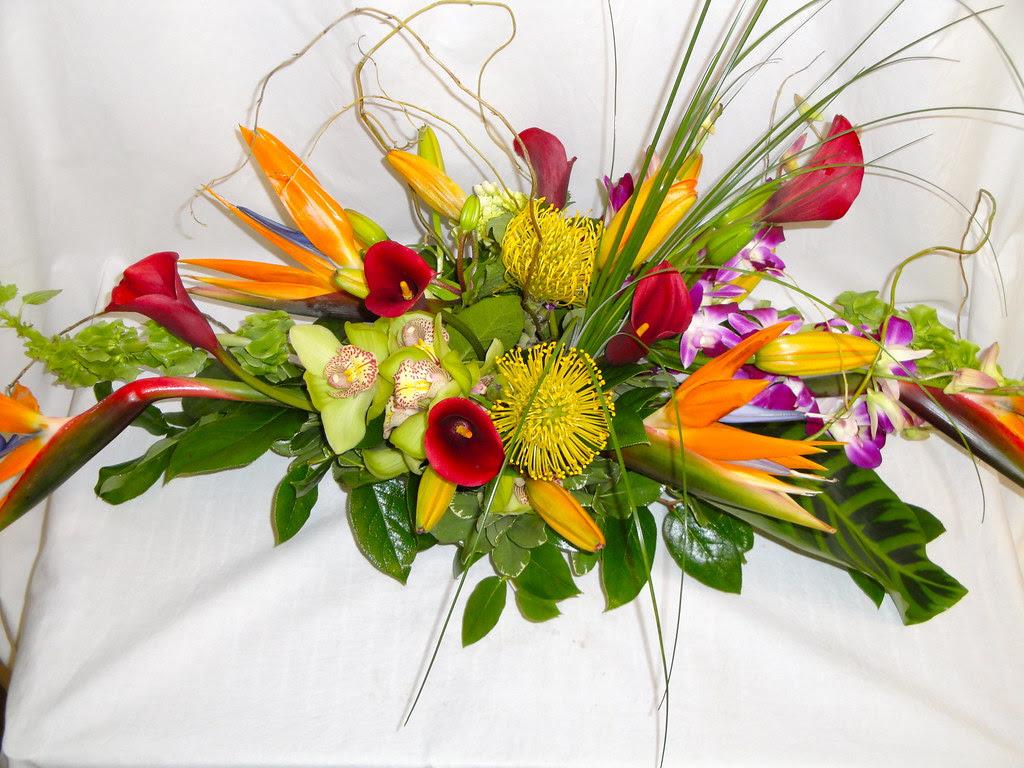Tropical Flowers Centerpieces Flowers Centerpieces Bloomsbury Flowers