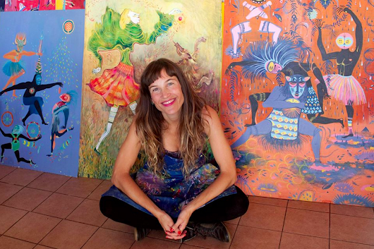 Artist Spotlight and Interview with Argentinian artist Estela Cuadro