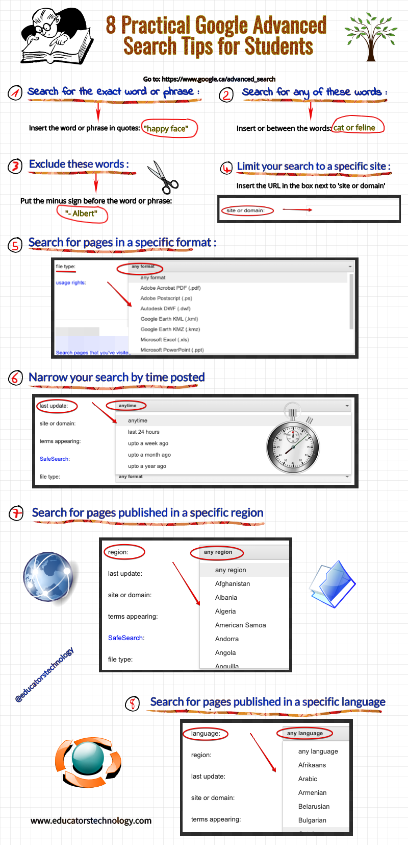 8 Practical Google Advanced Search Tips for Students