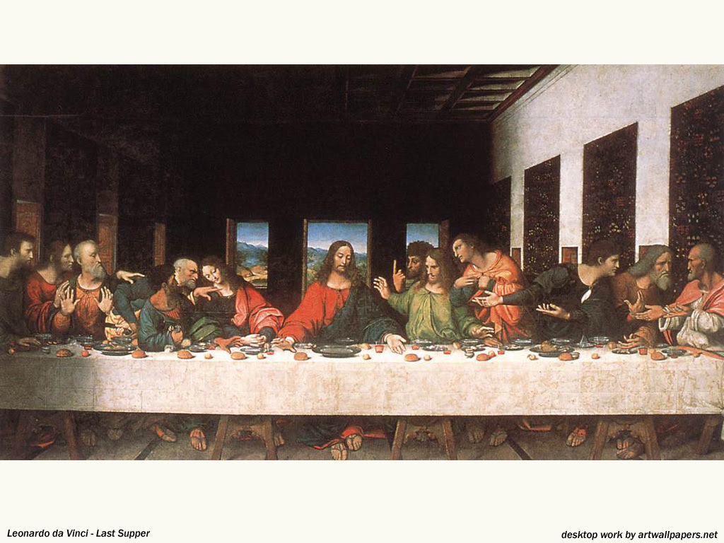 """Last Supper"", painting by Leonardo da Vinci"