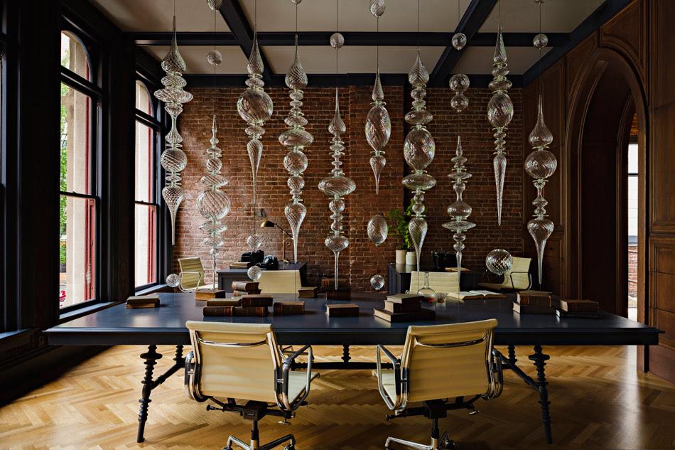 Jessica Helgerson Interior Design Gothic Office 3