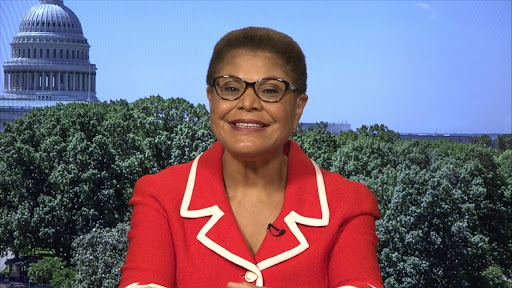 Avatar of Rep. Karen Bass says public pressure will move Voting Rights Advancement Act forward