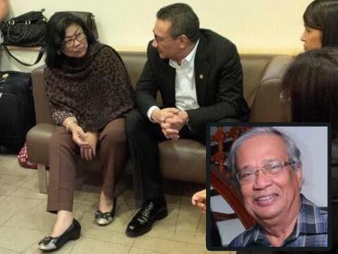 Suami Rafidah Aziz Meninggal Dunia