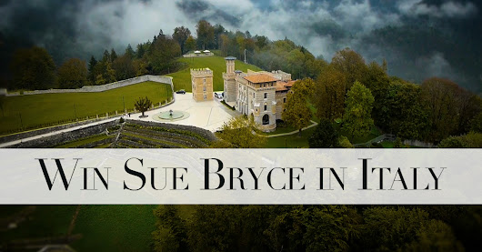 WIN A TRIP TO ITALY WITH SUE BRYCE