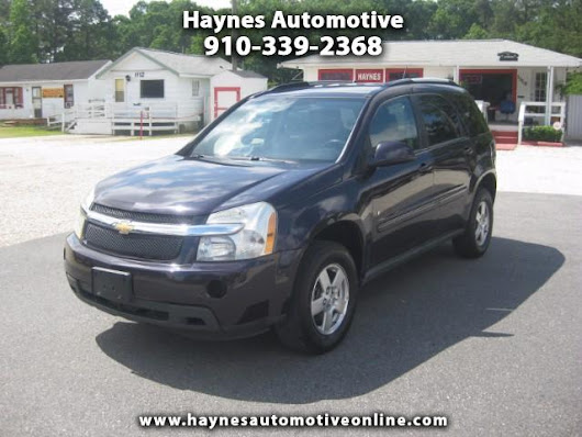 Used 2007 Chevrolet Equinox LT1 AWD for Sale in Fayetteville NC 28303 Haynes Automotive