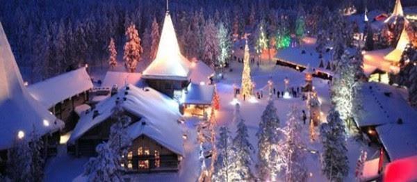 Laponia Finlandia Lugar para passar o Natal