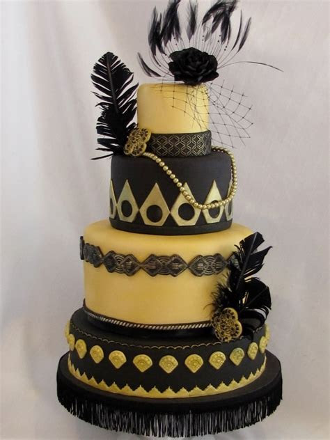 Great Gatsby cake   Cakewalk Catering