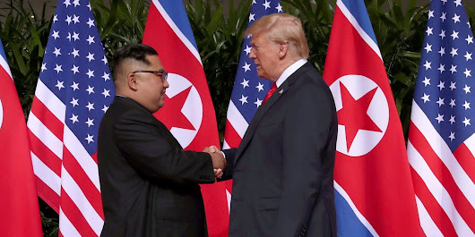 History Made: Trump and Jong Un Meet in Singapore