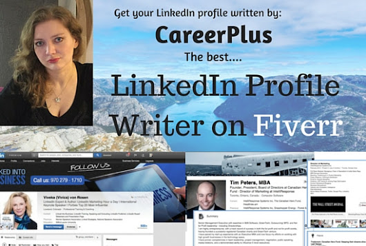 careerplus : I will craft engaging, targeted, highly compelling LinkedIn Profile for $35 on www.fiverr.com