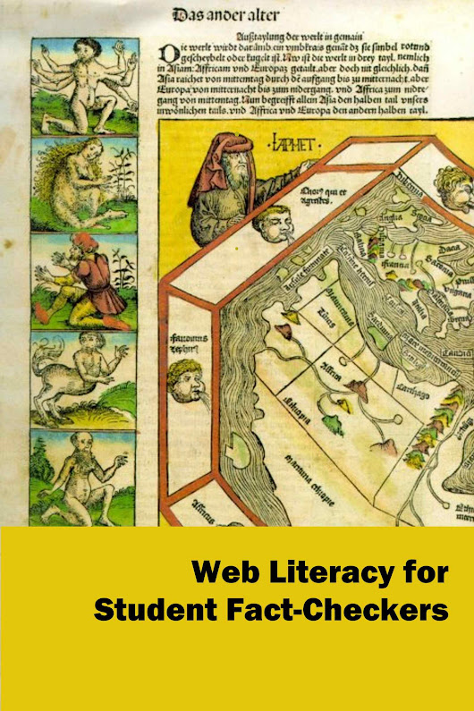 Web Literacy for Student Fact-Checkers | Simple Book Production