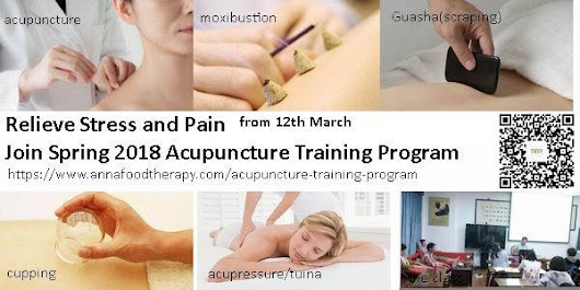 Acupuncture Training Class-Mar2018 - Monday, March 12, 2018 10:00 to Monday, July 2 12:00