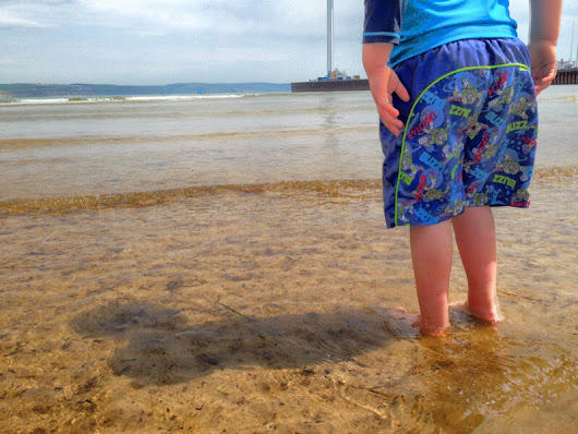 Towers, Beach life, wet feet and more Jelly fish: holiday adventures in Weymouth