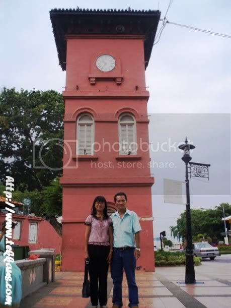 My Father-In-Law's One Day Visit To Malacca,Visit Malacca,A Famosa