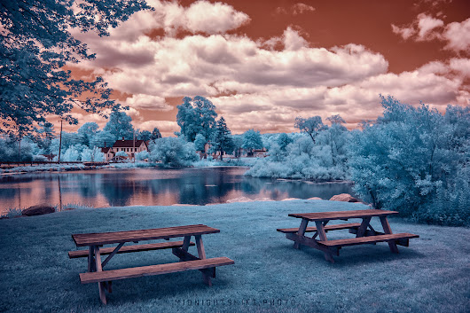 Infrared Rhode Island in the Summer