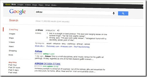 askew 5 fun things you should try on Google!