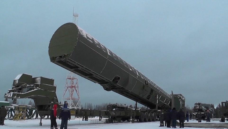 C'est une grosse bombe nucléaire: des images ont montré les préparatifs avant le lancement du dernier missile nucléaire russe