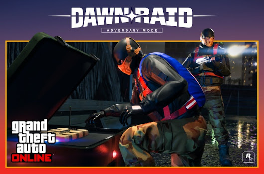 Neuer Modus 'Dawn Raid' und Unabhängigkeitstag-Feier - GTAvision.com - Grand Theft Auto News, Downloads, Community and more...