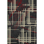"""Sabrina Modern Style Durable Flat Weave Area Rug 7'6"""" x 10'3"""" / Red"""