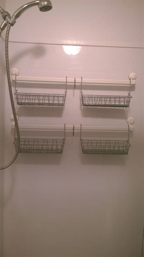 ikea hacked shower caddy   stugvik