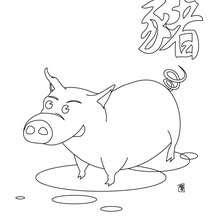 schwein bild zum ausmalen - malvorlagen