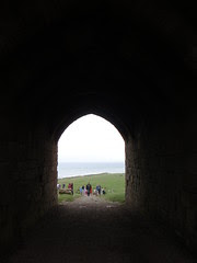 Dunstanburgh Castle by Nancy Dunne