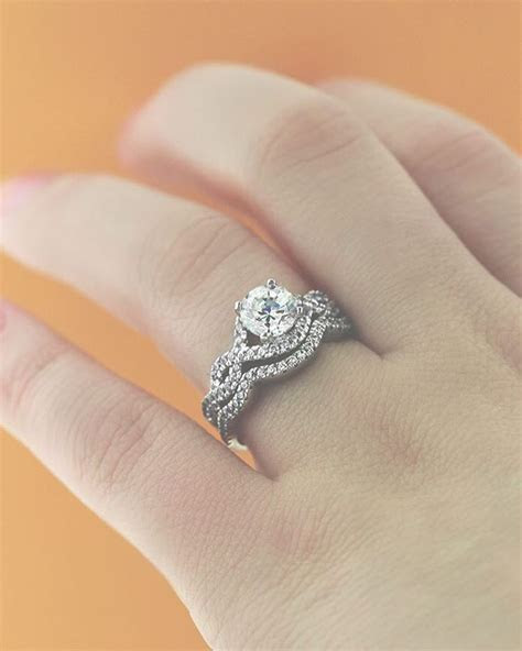 Infinity Wedding Set   Wedding Sets   Infinity ring