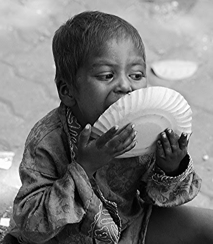 Hunger makes a thief of any man. Pearl S. Buck by firoze shakir photographerno1