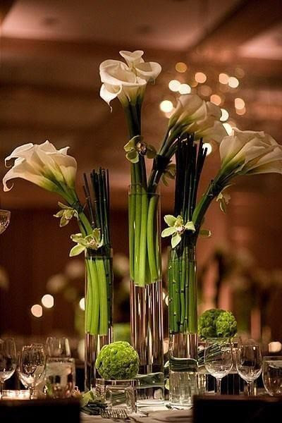 Calla centerpiece