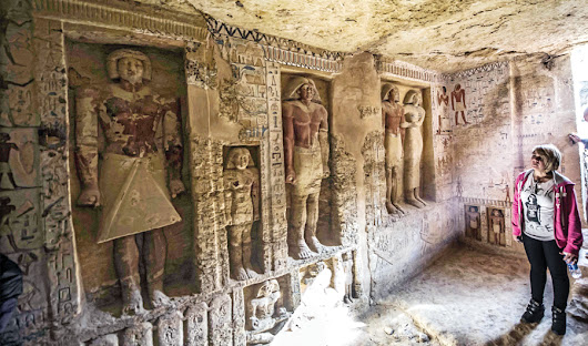 Egyptian tomb reveals its secrets after 4,400 years in 'find of the decades'