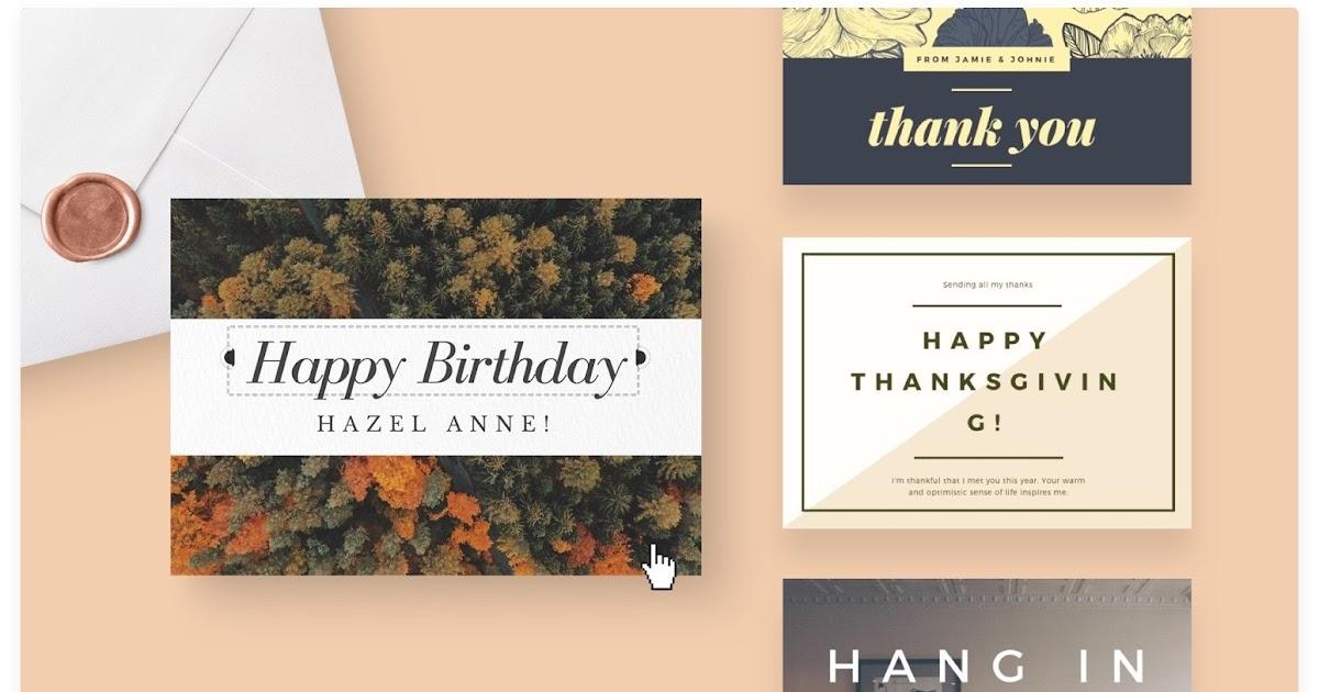 Greeting Card Desain Kartu Ucapan Kosong - kartu ucapan keren