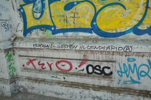 Insufferably Bad Graffiti in Santiago, Chile - Style Hi Club
