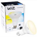 Wiz WiFi BR30 Smart Bulb White, 4-Pack