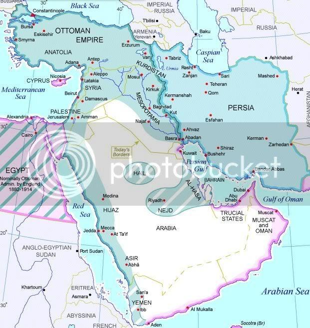 Η Οθωμανική Αυτοκρατορία κατά τον Α' Παγκόσμιο Πόλεμο