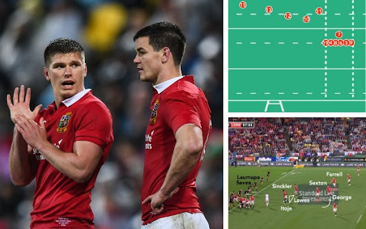 How Jonathan Sexton and Owen Farrell saved the Lions from themselves in gutsy final quarter