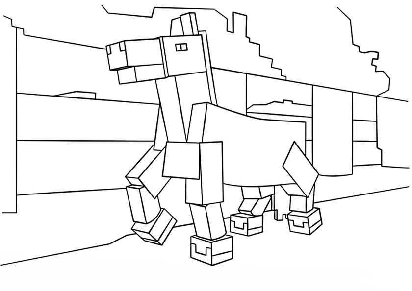Minecraft 15 | Ausmalbilder Kostenlos