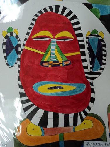 New Orleans artist Robert Rue by trudeau