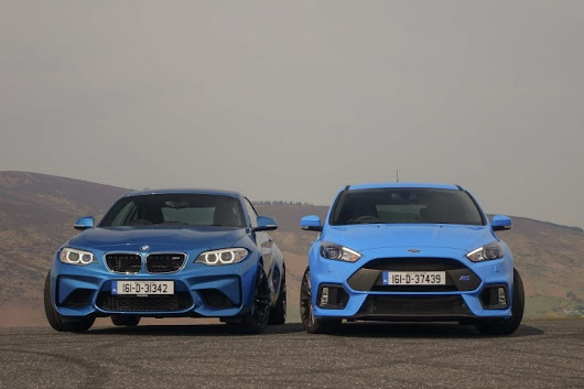 BMW M2 vs. Ford Focus RS comparison - a feature by CompleteCar.ie