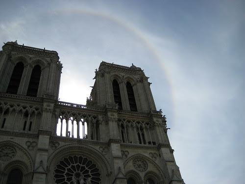 A Halo Around La Cathédrale Notre Dame de Paris