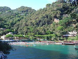 Paraggi Bay (Santa Margherita Ligure) in Italy.